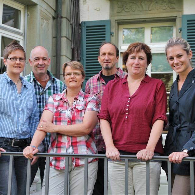 Gemeinderätin Ressortleiterin Bildung (hier mit Schulleitungsteam 2014)